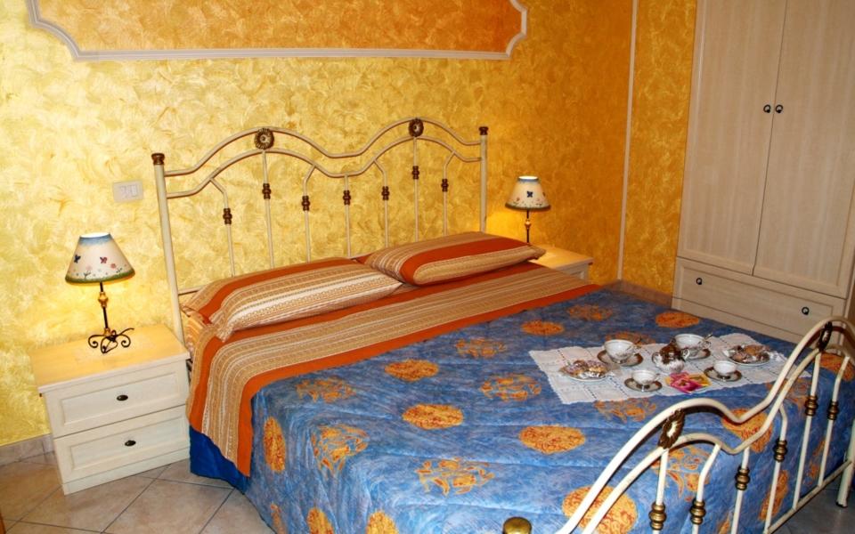 Camera da letto Stromboli Taormina, Taormina appartamenti, Apartments Taormina