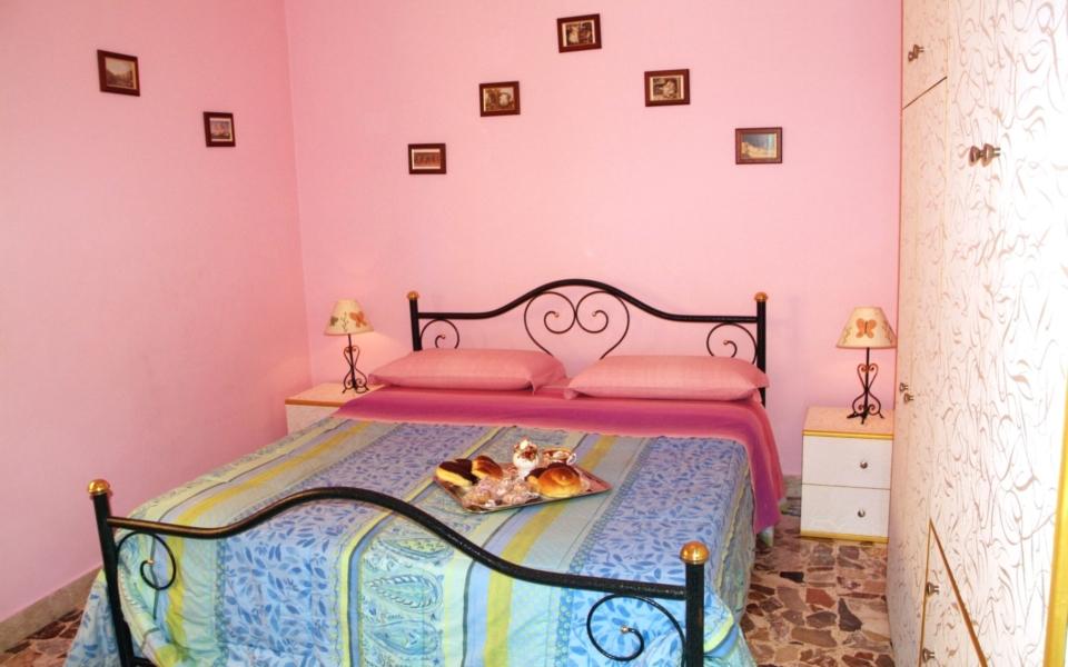 Camera da letto Baia Blu, Appartamento Taormina mare, Apartments Taormina