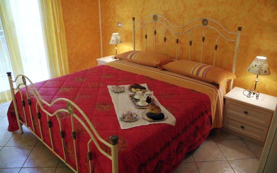 Appartamento Taormina mare, camera da letto Filicudi, Taormina apartments