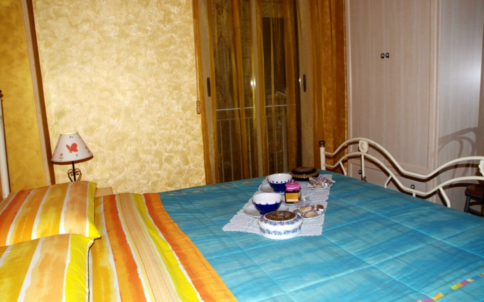 Camera da letto Taormina Apartments, Suite Salina