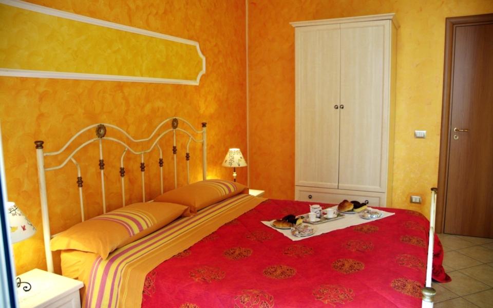 Appartamento Taormina, filicudi stanza da letto