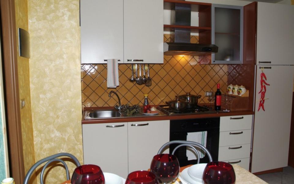 Cucina Taormina Apartments Residence da Concettina