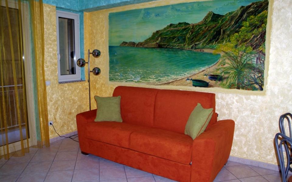 Soggiorno Stromboli, Taormina appartamenti, Taormina Apartments