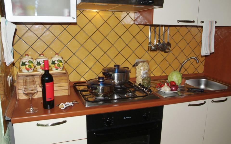 Cucina Taormina Appartamenti Residence da Concettina