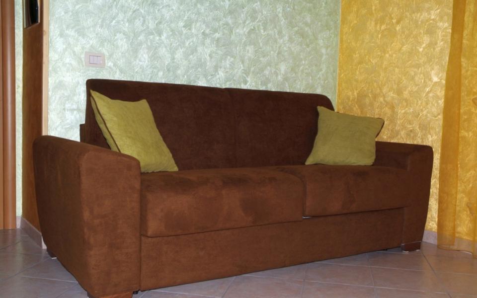 Suite Salina, Taormina appartamenti, divano