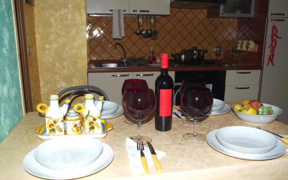 Filicudi Cucina, Taormina appartamenti, Taormina apartments