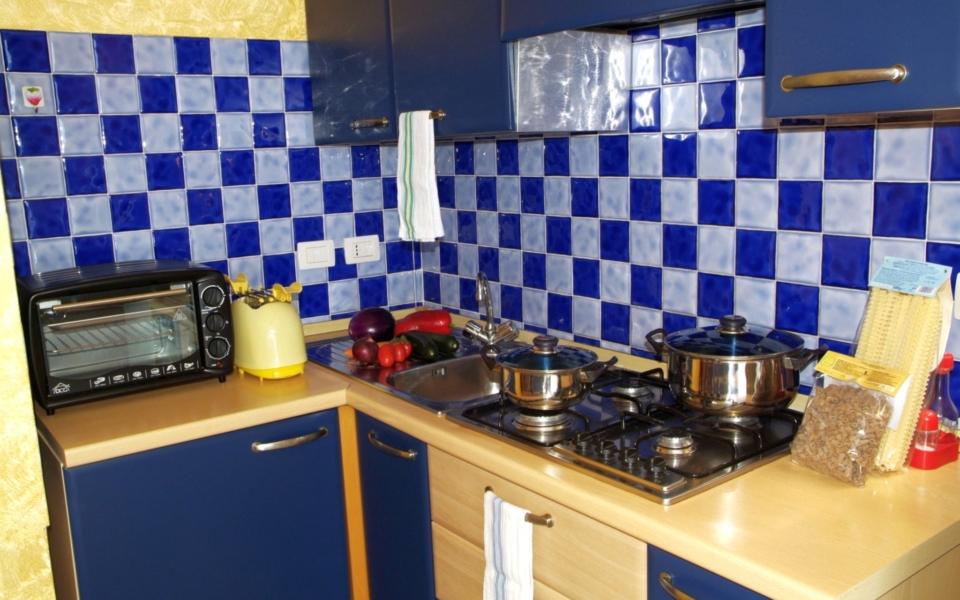 Cucina bellavista, appartamento Taormina mare, Taormina apartments